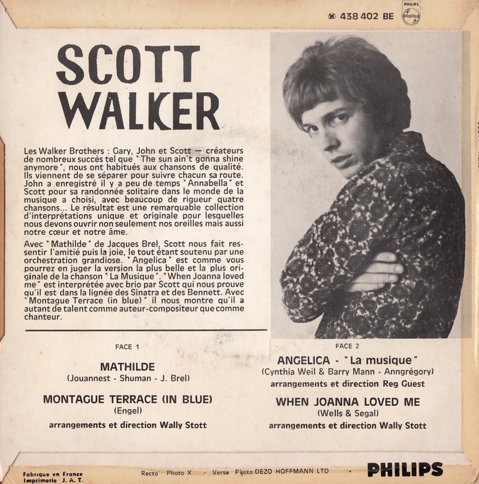 Mathilde EP – Scott Walker 2