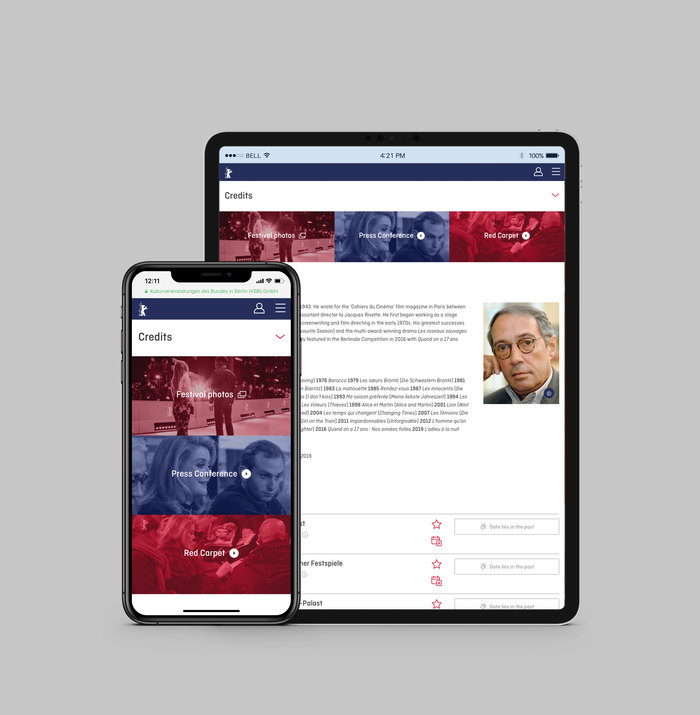 Berlinale visitor website (2018) 6