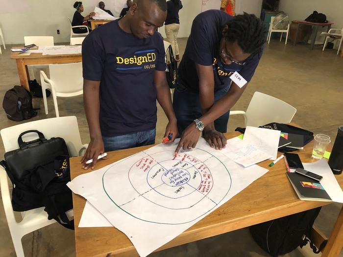 DesignEd workshop participants.