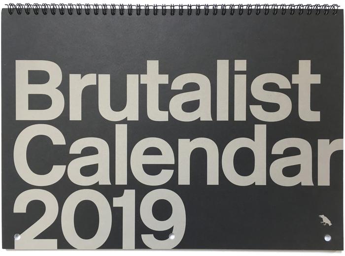Brutalist Calendar 2019 1