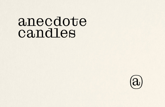 Anecdote candles 1
