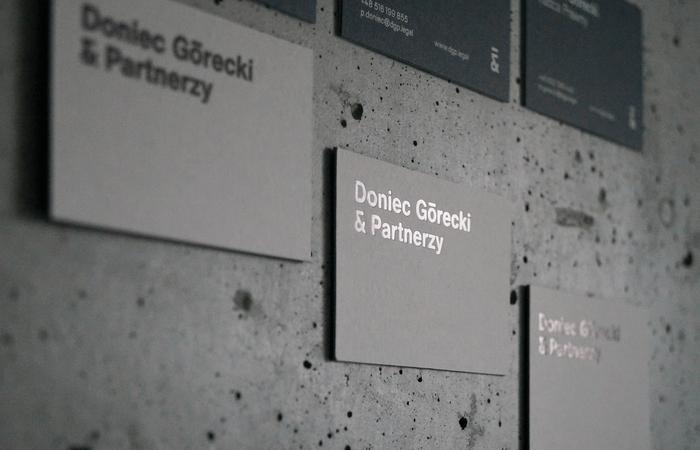 Doniec Górecki & Partnerzy identity 1