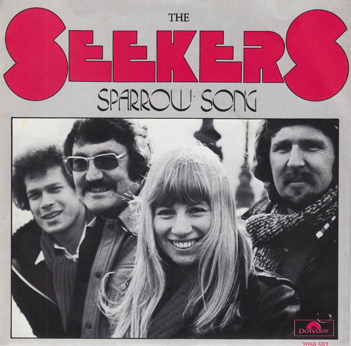 """The Seekers – """"Sparrow Song"""" Dutch single cover 1"""