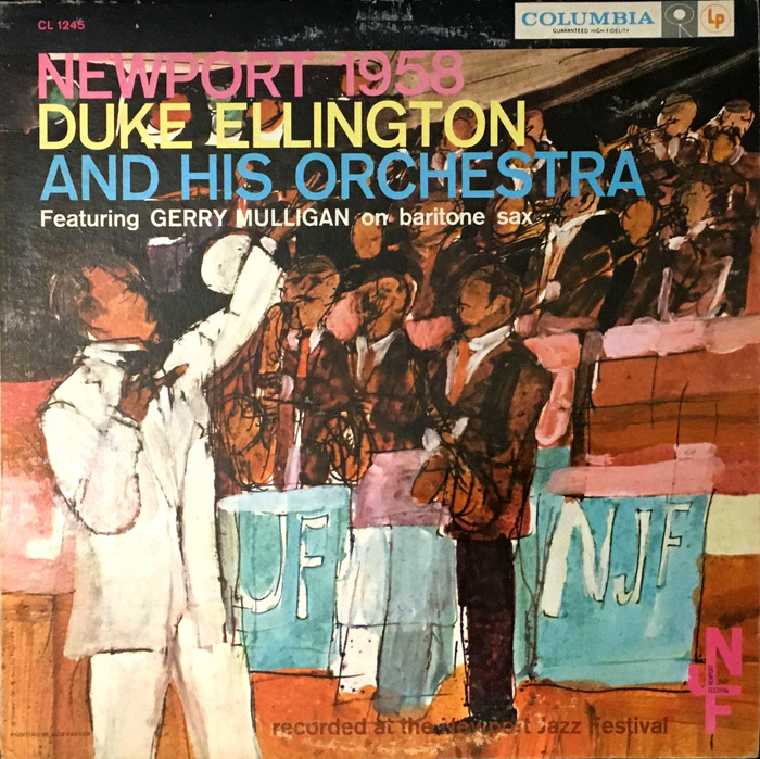 Duke Ellington And His Orchestra feat. Gerry Mulligan, CL 1245, 1958.