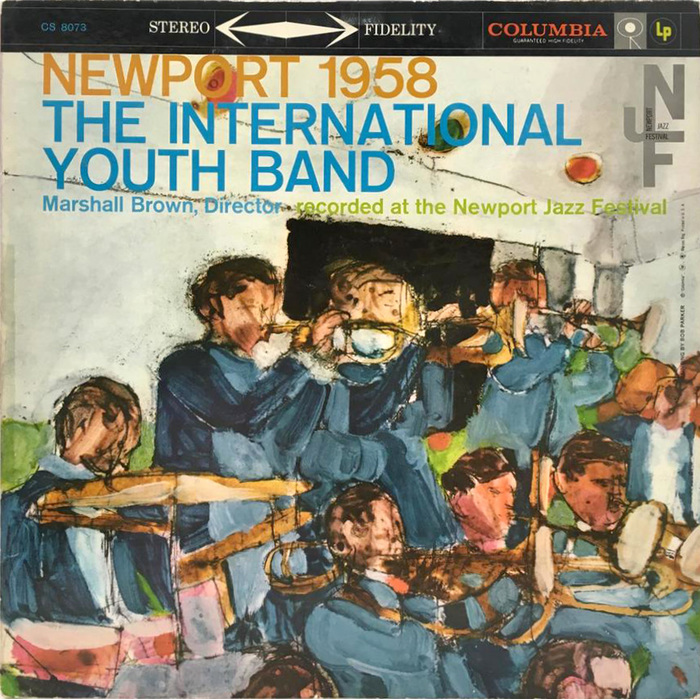 The International Youth Band directed by Marshall Brown, CL 1246, 1958.