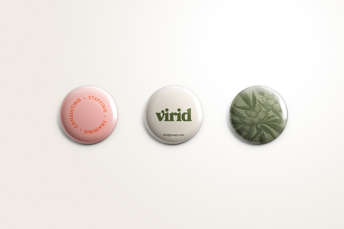Virid button design
