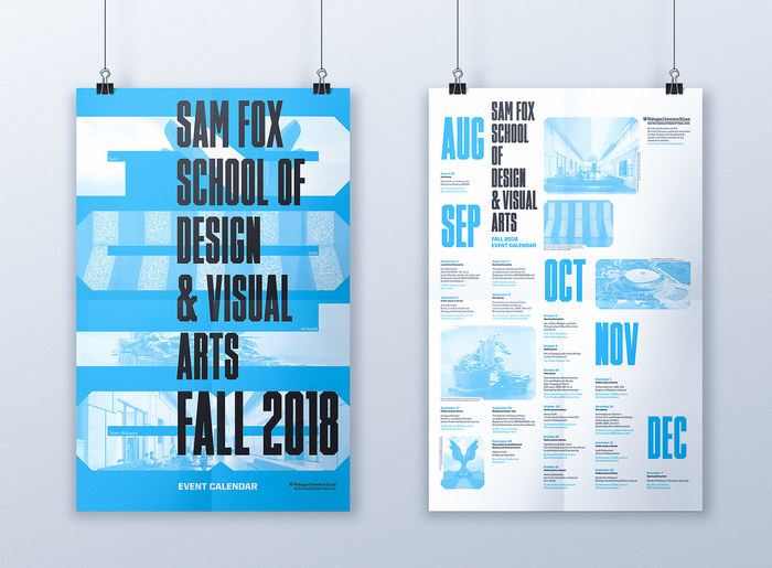 Sam Fox School Fall 2018 Calendar 1