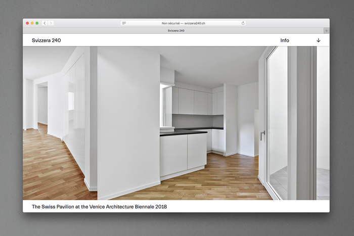 Still from the website, realized by Ron Widmer / pokus.ch, Zurich.