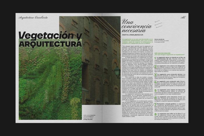 Arquitectura Encubierta, No.1 2