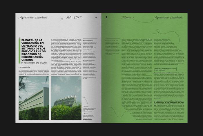 Arquitectura Encubierta, No.1 3