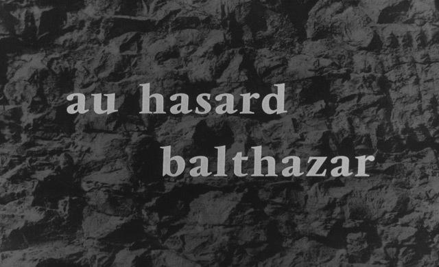 Au Hasard Balthazar (1966) titles 3