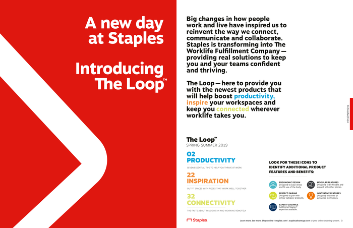 The Loop Issue 1, Spring/Summer 2019 (opening spread)