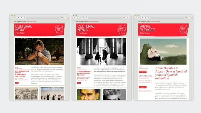 Spain Arts and Culture brand (2011–) 9