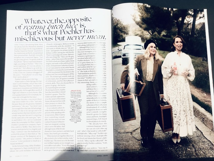"""""""What a Trip!"""" Photographs by Art Streiber. Styling by Deborah Afshani. Set design by Anthony A. Altomare for Buffalo Art Co. Produced on location by Zoe Talay for Westy Productions. — Vanity Fair"""