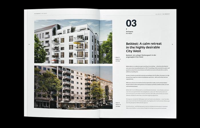 BeWest Berlin editorial design 6