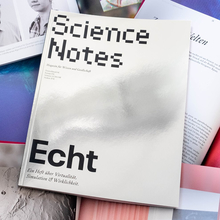"<cite>Science Notes</cite> magazine #3, ""Echt"", April 2019"
