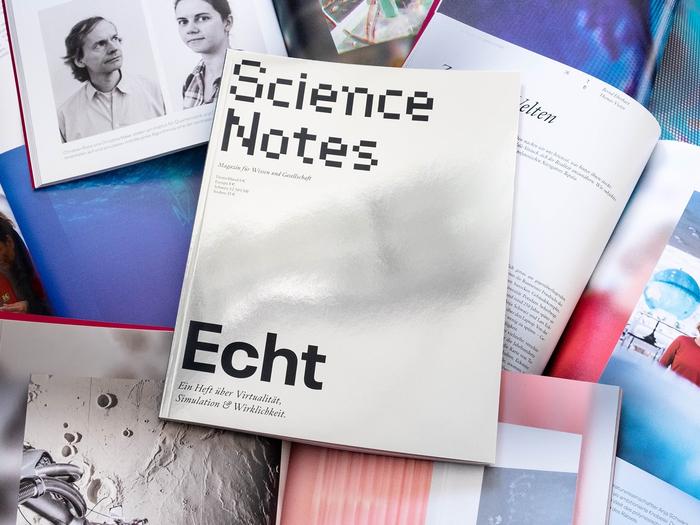 """Science Notes magazine #3, """"Echt"""", April 2019 1"""