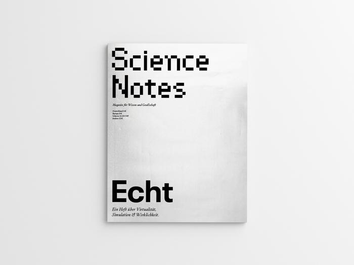 """Science Notes magazine #3, """"Echt"""", April 2019 4"""