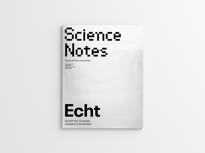 "Science Notes magazine #3, ""Echt"", April 2019 4"