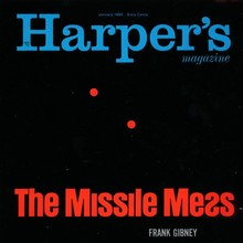 <cite>Harper's Magazine</cite>, Jan. 1960