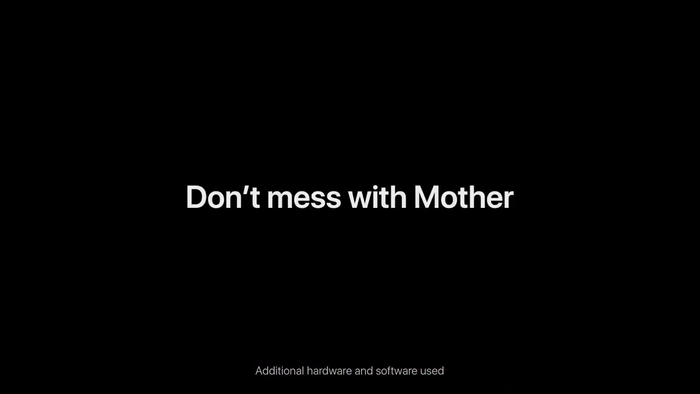 "Apple iPhone ad: ""Earth Shot on iPhone / Don't mess with Mother"" 3"