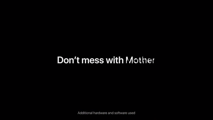 "Apple iPhone ad: ""Earth Shot on iPhone / Don't mess with Mother"" 4"