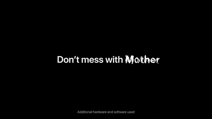 "Apple iPhone ad: ""Earth Shot on iPhone / Don't mess with Mother"" 5"