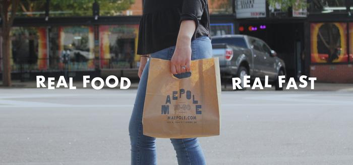 Maepole restaurant logo, sign, menu, website 10