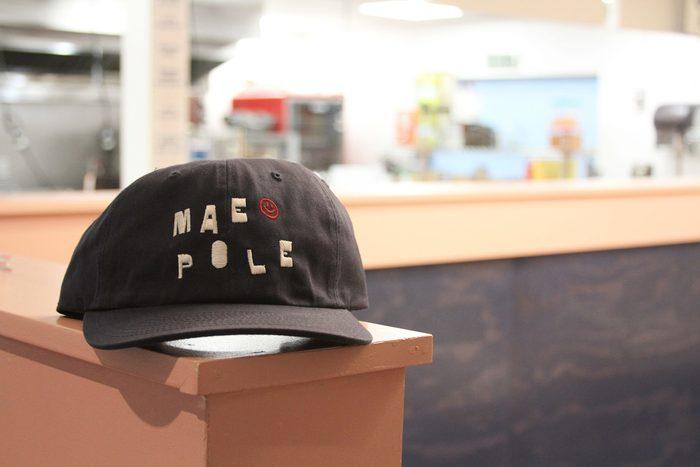 Maepole restaurant logo, sign, menu, website 9
