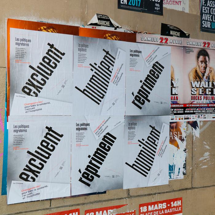 Les Politiques Migratoires poster series 4