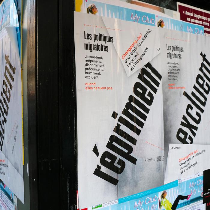 Les Politiques Migratoires poster series 5