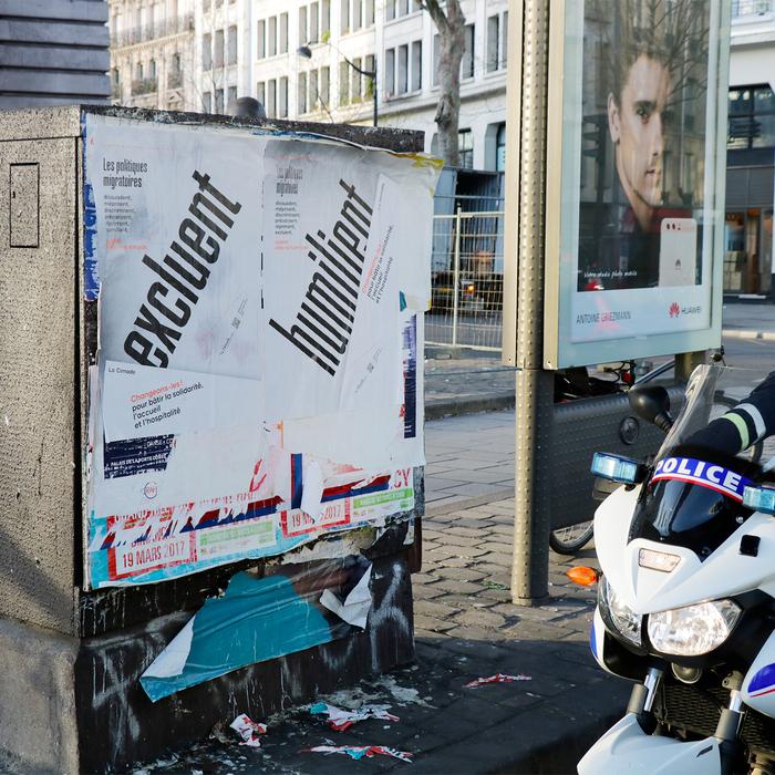 Les Politiques Migratoires poster series 2
