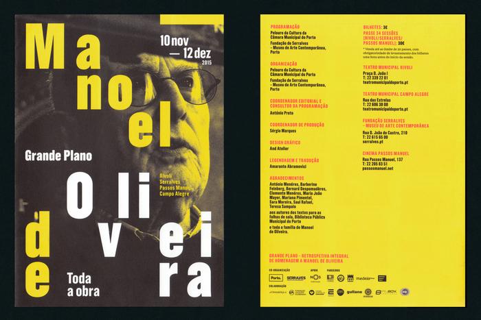 Manoel de Oliveira's Grande Plano retrospective 5