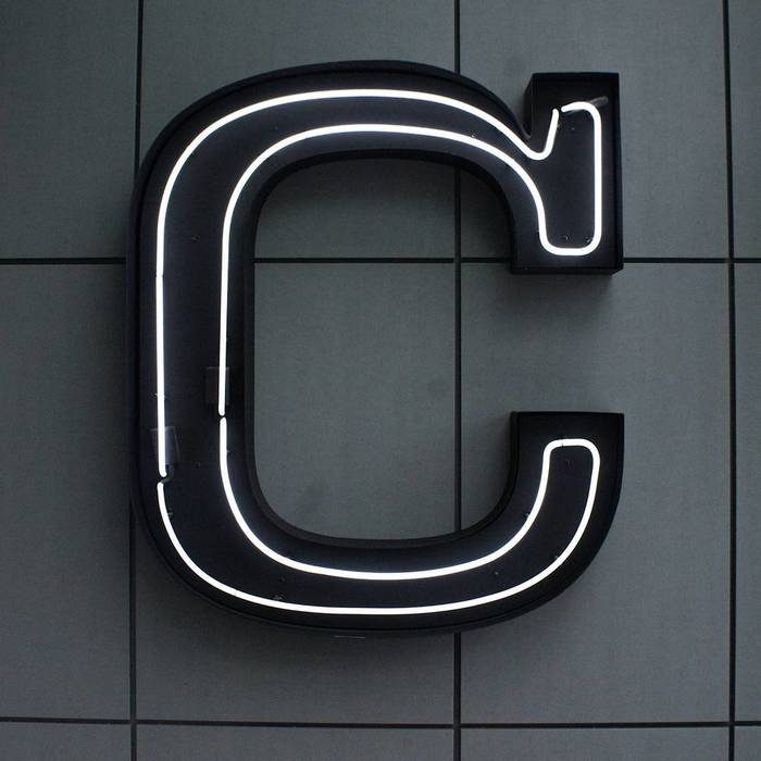 Central Social Hall logo and sign 2