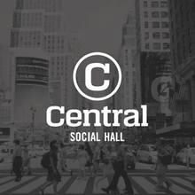 Central Social Hall logo and sign
