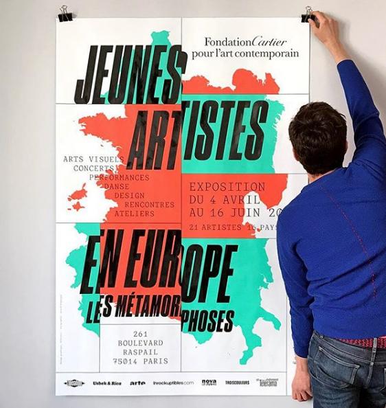 Jeunes Artistes en Europe. Les Métamorphoses at Fondation Cartier 1