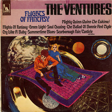 The Ventures – <cite>Flights Of Fantasy</cite> album art