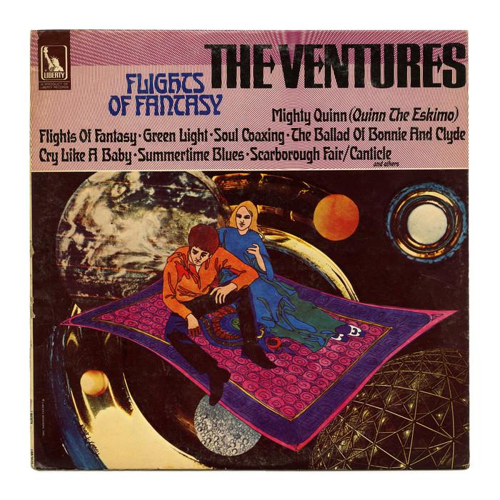 The Ventures – Flights Of Fantasy album art 1