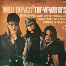 The Ventures – <cite>Wild Things!</cite> album art