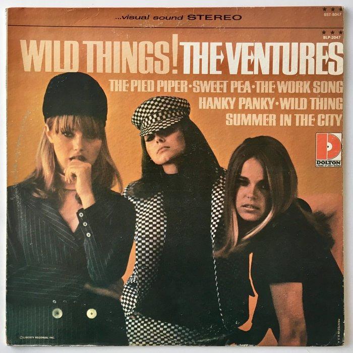 The Ventures – Wild Things! album art 1