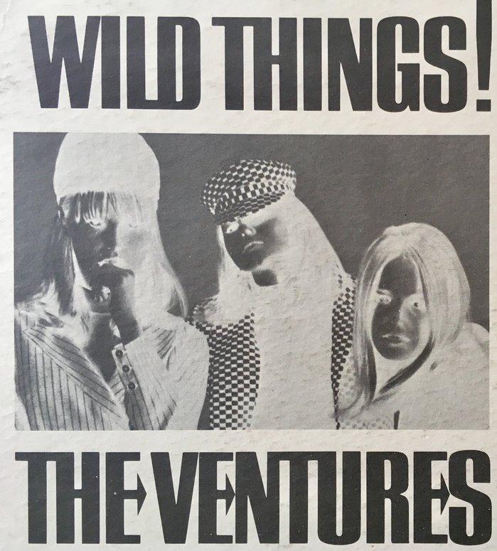 The Ventures – Wild Things! album art 2