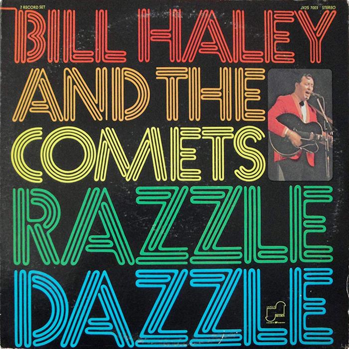 Bill Haley and the Comets – Razzle Dazzle album art 1