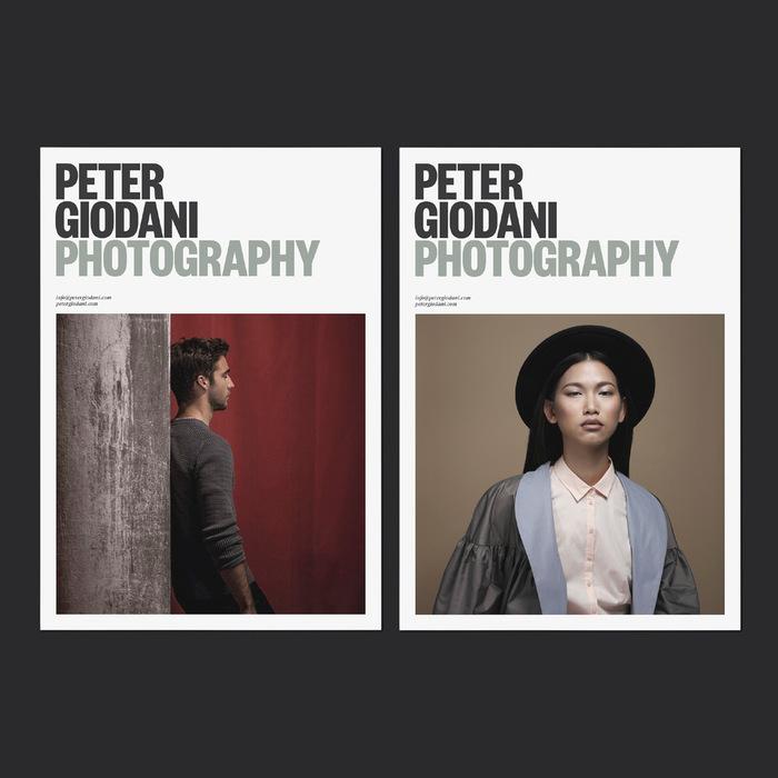 Peter Giodani Photography identity 1