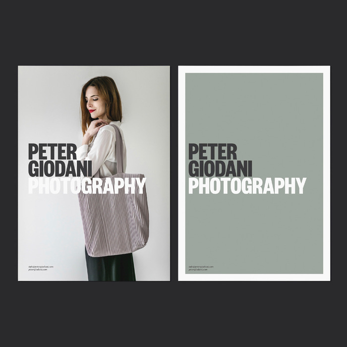 Peter Giodani Photography identity 5