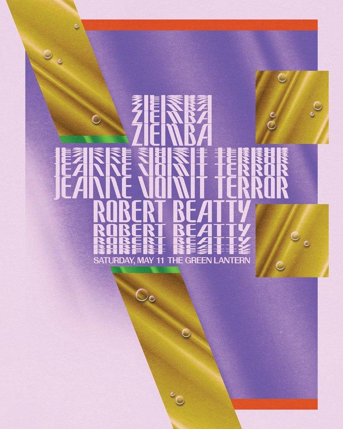 Ziemba / Jeanne Vomit-Terror / Robert Beatty at Green Lantern Bar