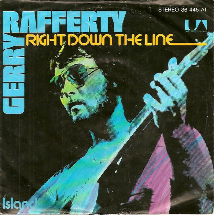 """Right Down The Line"" / ""Island"" – Gerry Rafferty"