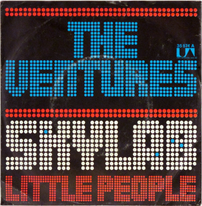 "The Ventures – ""Skylab"" / ""Little People"" German single cover 1"