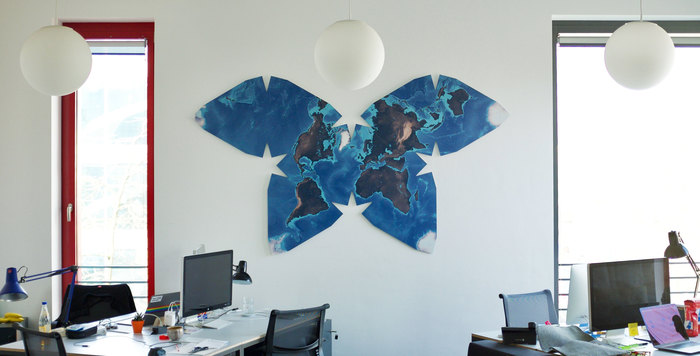 Butterfly world map 1