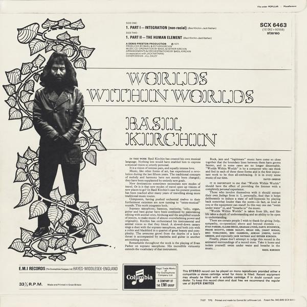 Worlds Within Worlds – Basil Kirchin 2