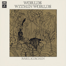 Basil Kirchin – <cite>Worlds Within Worlds</cite> album art